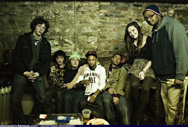 Kids These Days are a dope hip-hop BAND.  They have a hot spitter, guitar, trombone, saxophone, drums and more…